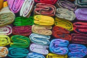 Colorful sarees