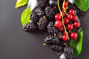 Mix of fresh berries