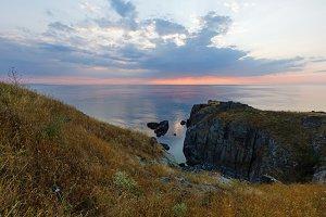 Sunrise Sea Scenery.