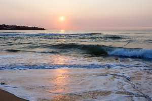Sea Beach Sunrise View (Bulgaria).