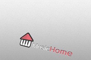 MusicHome Logo Templates