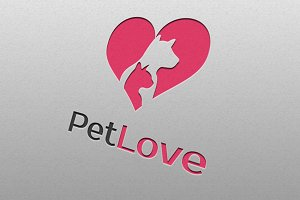 Pet Love Logo Templates
