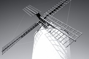 Windmills of Don Quixote, Spain