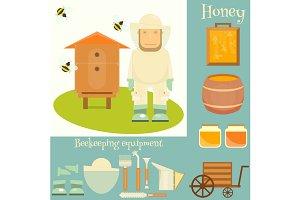 Apiary beekeeper