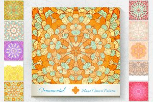 10 Ornamental Patterns. Set#2