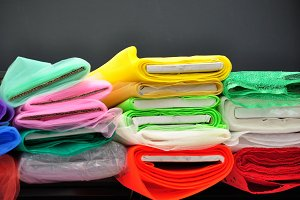 tulle fabric rolls