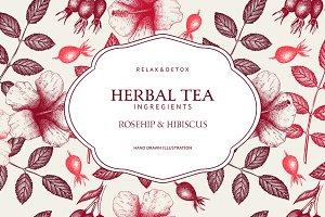 Hibiscus & Rosehip design