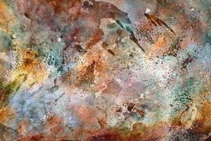 Acrylic Carina Nebula