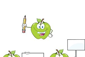 Apples Characters Collection - 6