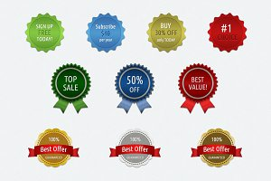 10 Modern Badges