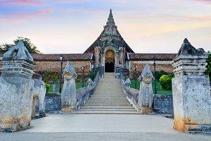 Wat Phra That Lampang Luang temple