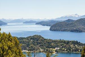 Lake scenic view