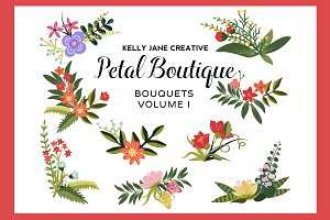Petal Boutique Bouquets Vol. 1