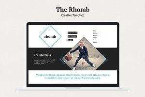 Rhomb | PSD Template