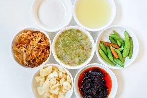 Thai food condiment