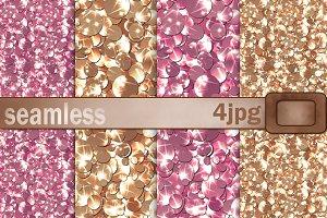 Seamless textures glitter. Confetti