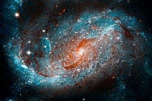 Acrylic Spiral Galaxy