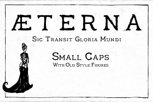 Aeterna Small Caps Old Style Figures