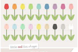 Tulip Flower Clipart