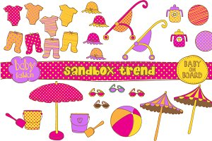 Sandbox Trend and Baby Girl Fashion