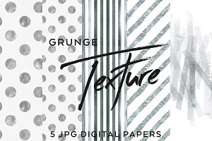 hand-painted unique grunge papers