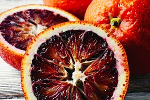 unusual orange red
