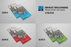 Trifold Corporate Brochure | V456