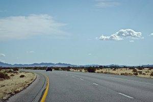 Mojave Desert Freeway