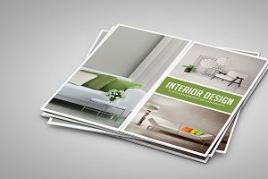 Gate Fold Interior Brochure-V458