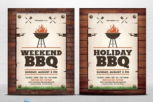Holiday / Weekend BBQ Flyer