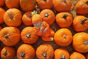 Serene Pumpkin Baby