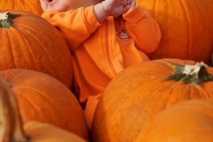 Angry Pumpkin Baby