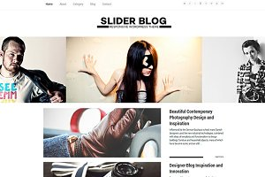 Slider Blog Responsive WordPress