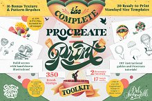 Sale-Procreate Print Toolkit 2 by  in Add-Ons
