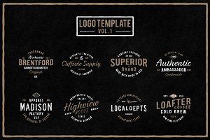 Handmade Logo Template (Vol. 1)