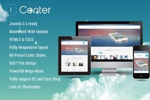 SJ iCenter - K2, EasyBlog integrated