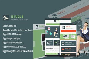 SJ iSingle - Best business template