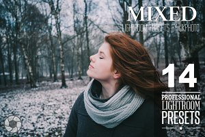 14 Mixed Lightroom Presets