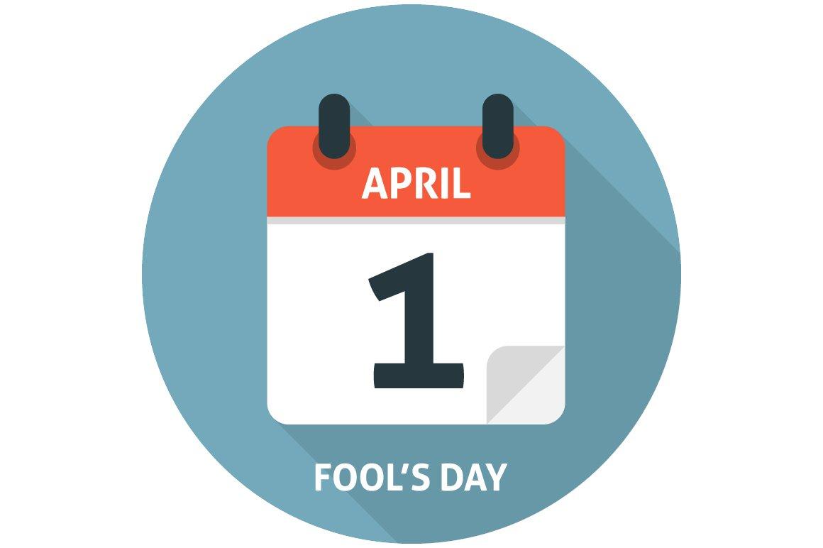 calendar flat icon april 1 icons creative market