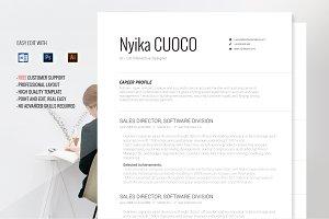 Resume Template Nyika