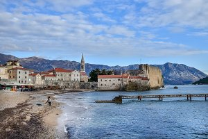 Budva, Montenegro, Balkan Peninsula
