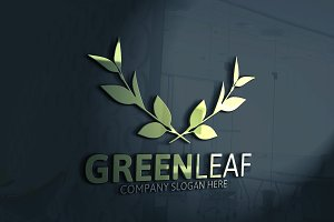 Green Leaf Logo Version3