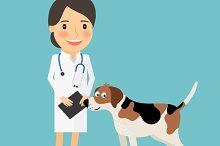 Female Veterinarian Doctor