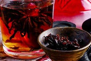 Hookah and tea