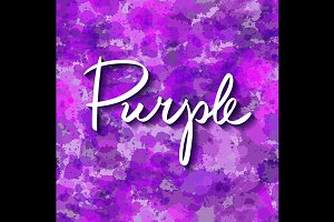 color purple. seamless pattern