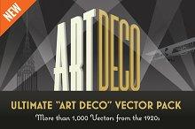 "Ultimate ""Art Deco"" Vector Pack"