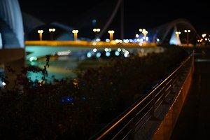night bridge lights