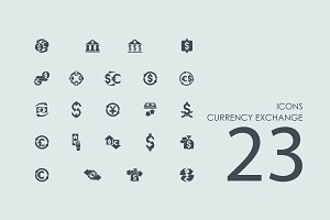 23 Currency Exchange icons