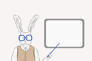 Rabbit teacher