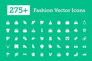 275+ Fashion Vector Icons